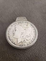 Relíquia de prata do século 19 em prata de lei<br>