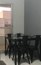 Mesa de jantar  - estilo industrial