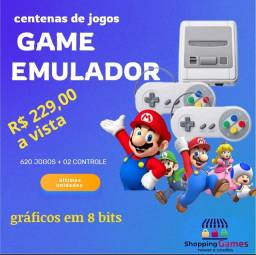 Título do anúncio: Game emulador Nintendo 02 controles