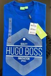 camisetas hugo boss atacado minimo 10 pcs estampadas