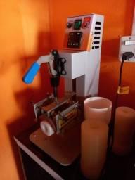 Vendendo maquina de personalizar copo