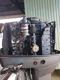 Motor de popa Suzuki dt 140hp carburado.