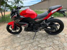 Kawasaki Z300 nov demais 2018 6000 km