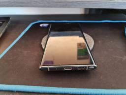 Samsung Note 10 na caixa C nota carregador