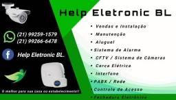 Instalação e manutenção de serviço de CFTV