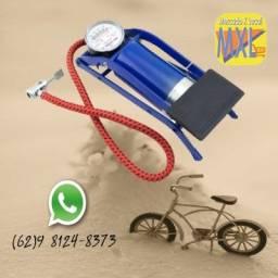 Bomba de Pé - Enche Pneu Bicicleta, Bola, Brinquedo Inflável - Bike