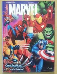 Figurinha Heróis Marvel 2009