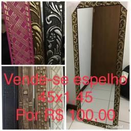 Promoção espelho grande 1,45x45