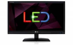 "Monitor LED Lg E1941 / 18,5"" / bivolt / 60Hz / D-SUB / seminovo"