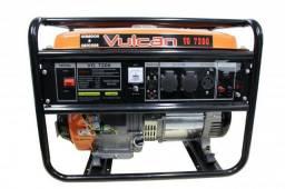 Gerador de energia à gasolina partida manual VG7200KVA Vulcan