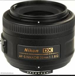 Lente Nikon 35mm dx