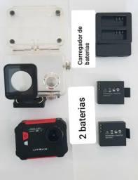 Câmera ação Xtrax Evo + 2 anos de garantia extra+ carregador + bateria extra