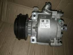 Compressor Ar condicionado Onix Spin Prisma Cobalt Original
