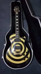 Guitarra Epiphone Les Paul Zakk Wylde 2005 Korea Emg 81/85 Case Gator