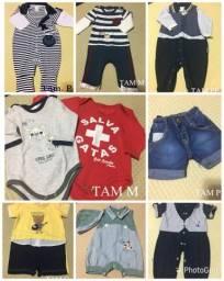 Lote roupas de menino