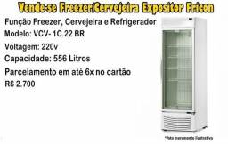 Freezer & Cervejeira Expositor Fricon