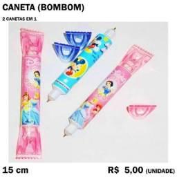 Caneta Bombom 2 em 1