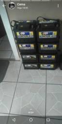 Baterias de carros com perda total, revisadas e com garantia de 5 meses qualquer marca