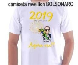 Camiseta Reveillon Ano Novo Jair Bolsonaro 2019 fb33dc685532f