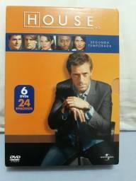 House dvds segunda temporada
