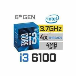 I3 6100 3.7 ghz + Pc Ware ipmh110p ddr4 2133mhz