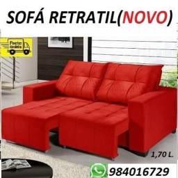 Peça Agora e Receba No Mesmo Dia!!Sofa Retratil Novo Com Entrega Gratis!!