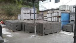 Blocos de concreto, tijolo de cimento