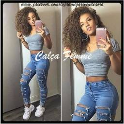 Calças Jeans Destroyer