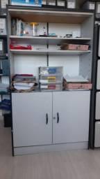 Armário para escritório em MDF 157 x 90 x 40 cm