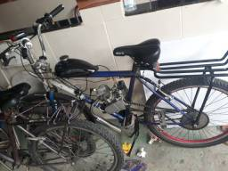 Vendo bicicleta motorizada 80cilindrada