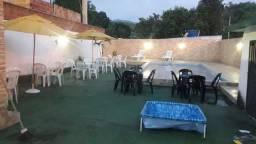 Piscina + terreno+ churrasqueira vendo