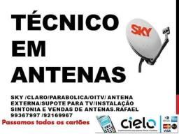 Antenas instalador antenas sintonia//