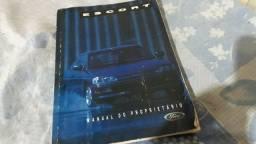 Manual do propretario escort xr3 europeu Original.