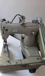 Maquina de costura industrial fechadeira de braço