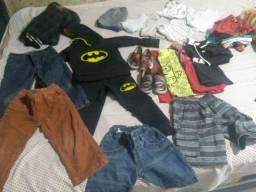 Lote roupa menino 3 anos