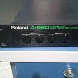 Módulo Roland Midi Patcher A-880 (raridade!)