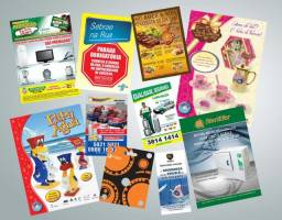Panfletos Flyers e Folders