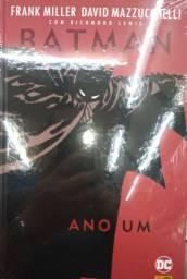Livro HQ do Batman. Ano Um