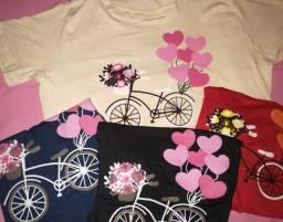 T-shirt Curta