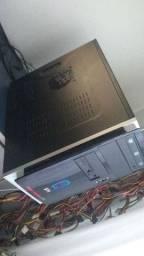 Cpu core 2 quad q6600 8ram hd1tb placa 1gb