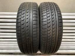 Par de Pneus Pirelli 185/60/15 P7 Praticamente NOVOS - Pneu 185/60r15