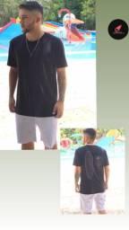Bermudas Detonada e camisas da osklen entre outras
