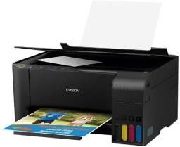 Multifuncional Epson EcoTank L3150, Wi-Fi Direct, USB, Bivolt - Na Caixa!!