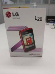 """Smartphone LG L20 Tela de 3"""". (Na caixa lacrada)"""