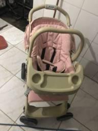 Kit carrinho mais bebe conforto e banheira