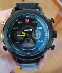 Relógio Swaves Aço Inox