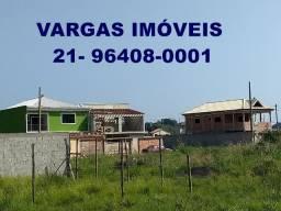 BEM Grandes!! Terrenos: 8x31,80 / 9x20 e 9x22(planos) Campo Grande, Mendanha!! Obra JÁ!!