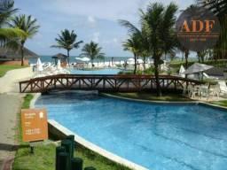 Beach Class Muro Alto - Flat com 2 quartos à beira-mar de Muro Alto