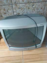 Tv 21 polegadas boa