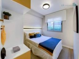 Apartamento com 1 dormitório, 1 cozinha, 1 sala, excelente localização e ótima área e lase